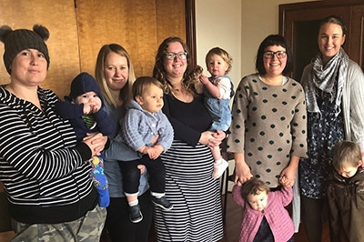 Mothers and babies well supported in the Hurunui