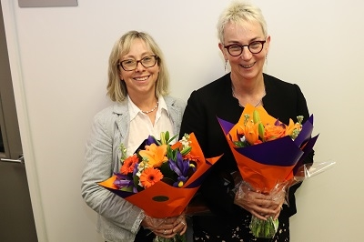 Farewell to Sue Nightingale and Sue Fowlie