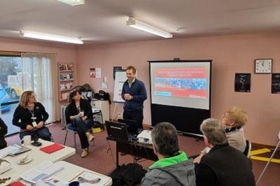 Volunteers workshop