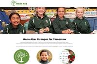 New website for Mana Ake
