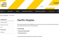 Covid-19 resources for Pacific peoples