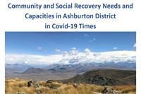 Community and social recovery needs for Ashburton District through Covid-19