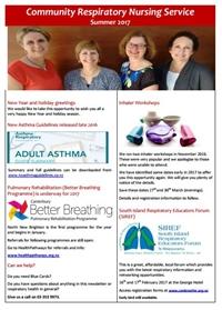 Community Respiratory Nurses Newsletter
