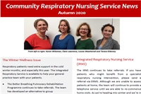 Community Respiratory Nursing Service newsletter