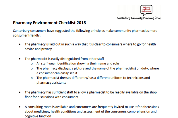 Environment Checklist