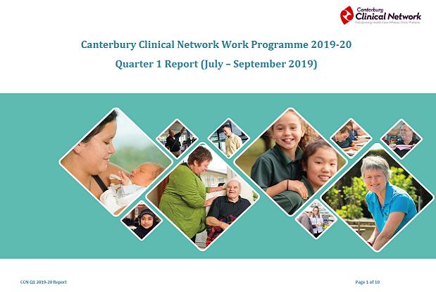 CCN quarterly reports