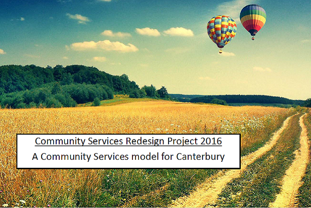 Community Services Redesign