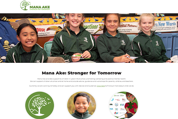 Mana Ake website