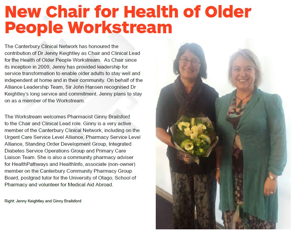 HOPWS welcomes a new chair