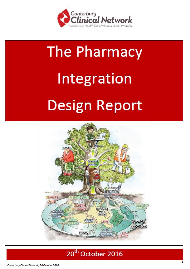 Report - Pharmacy Integration Design Process