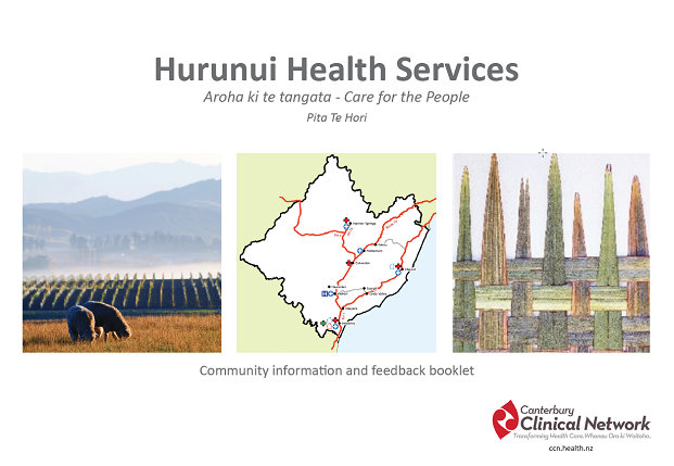 Information sessions to provide detail on proposed Model of Care for Hurunui