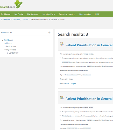 Patient Prioritisation in General Practice e-learning package launched