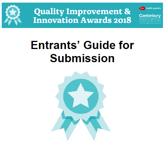 Quality Improvement & Innovation Awards 2018 – Entry invitation