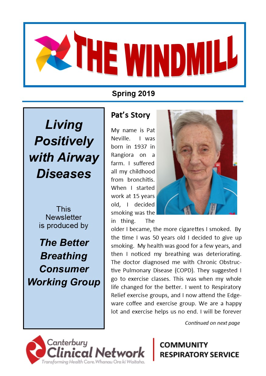 Windmill newsletter Spring 2019