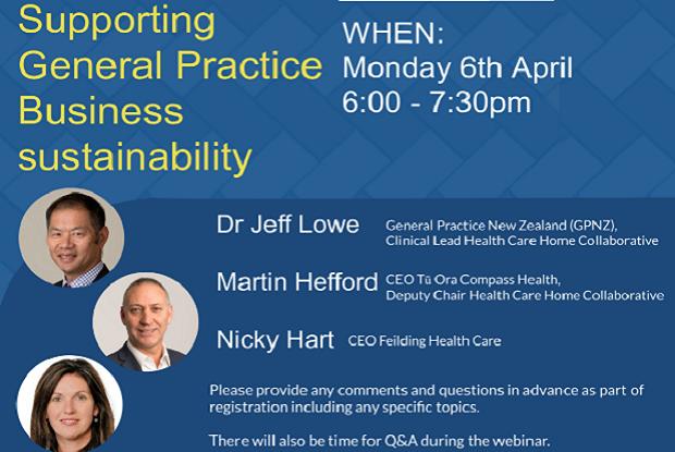 General Practice sustainability webinar